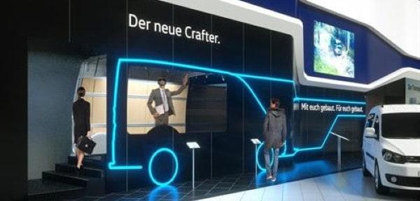 Volkswagen delivers innovative VR display