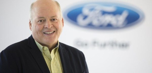 Jim Hackett - new Ford CEO