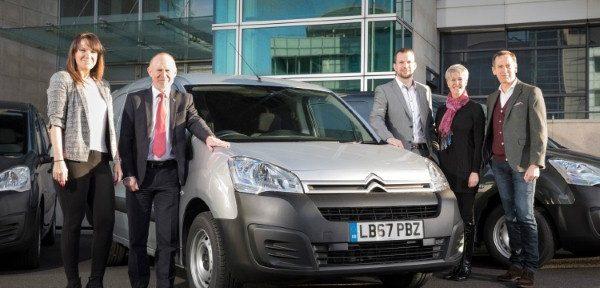 Catering supplier keeps fleet fresh with new Citroen vans