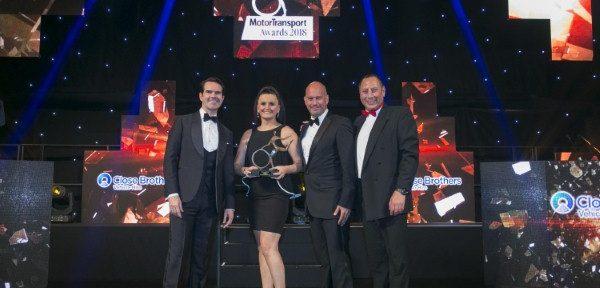 Peugeot Partner bags best fleet van gong at 32nd Motor Transport awards