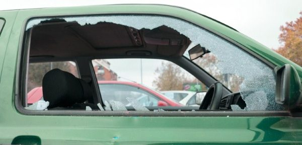 Luxury cars attacked at 'secure' airport car park