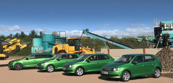 Utility firm's fleet now complete with new Skoda additions