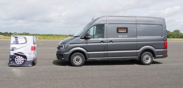 All new vans should come with emergency self-braking