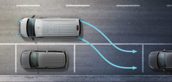 1 in 10 van accidents involve parking and reversing