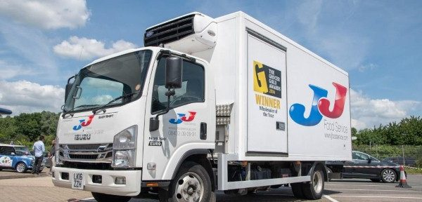 Telematics helps cut CO2 and vehicle idling for eco-minded restaurant supplier