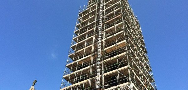 Scaffolding company constructs fleet savings with fuel cards