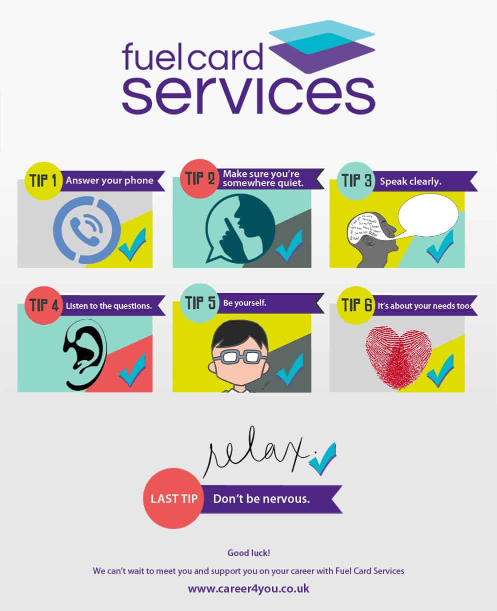 Top Telephone Interview Tips - Fuel Card Services