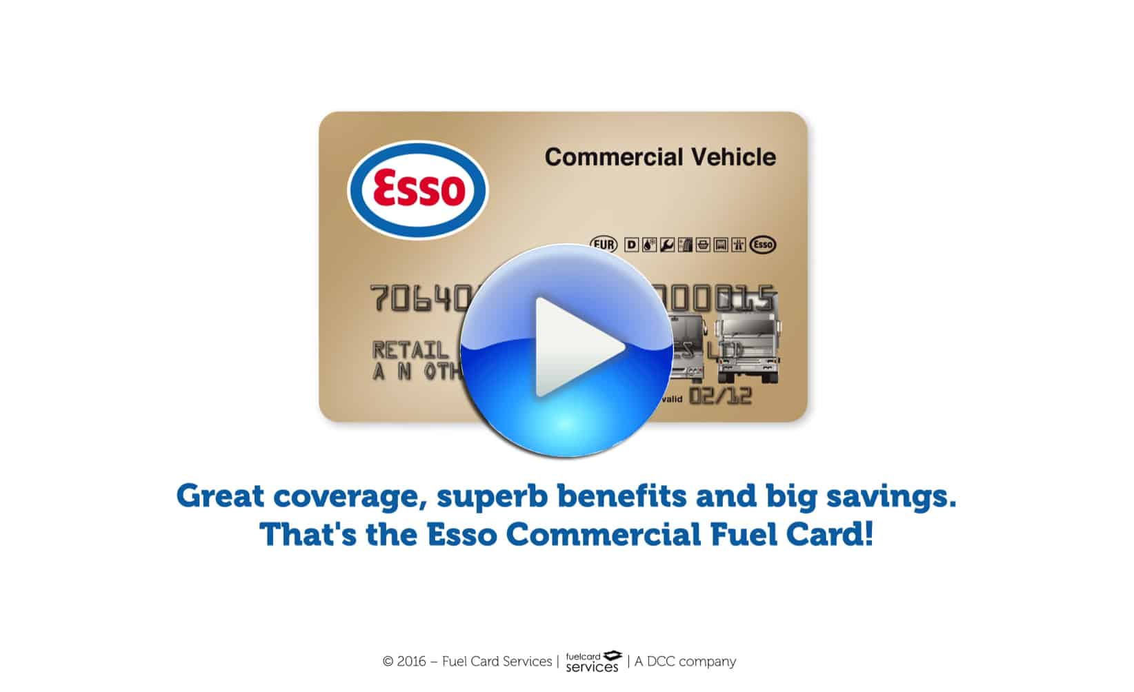 Esso Commercial Discount Fuel Card