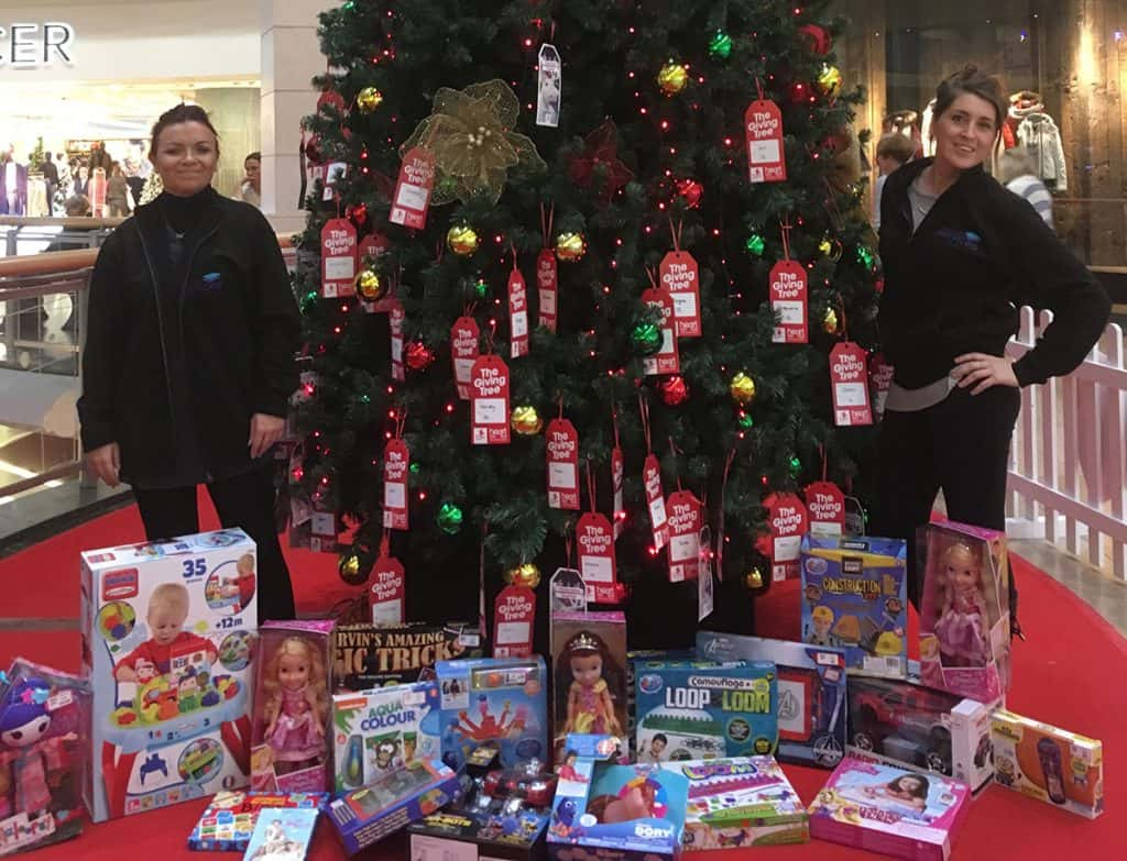 Donation to the Giving Tree in Kent - Fuel Card Services