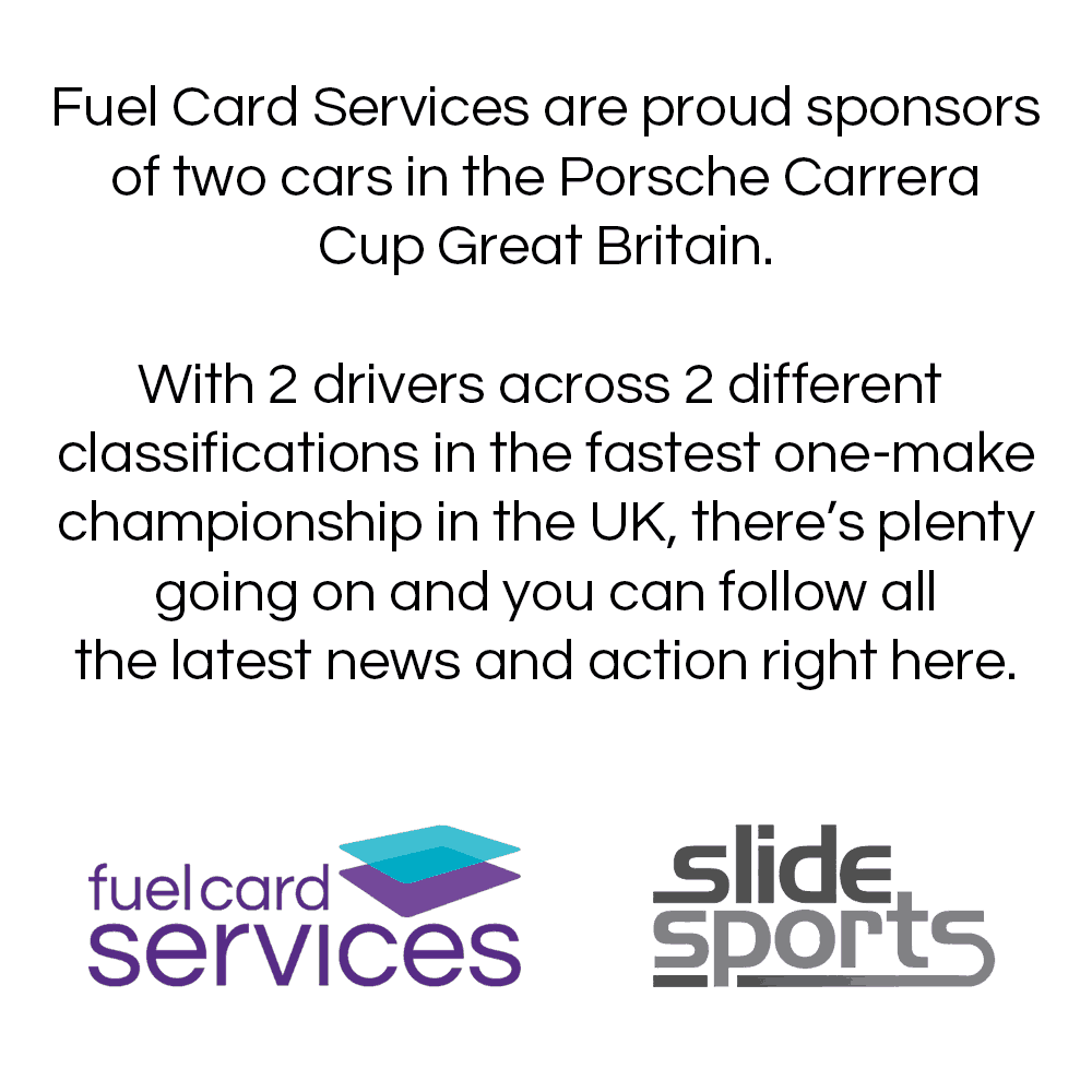 Fuel Card Services - Porsche Carrera Cup