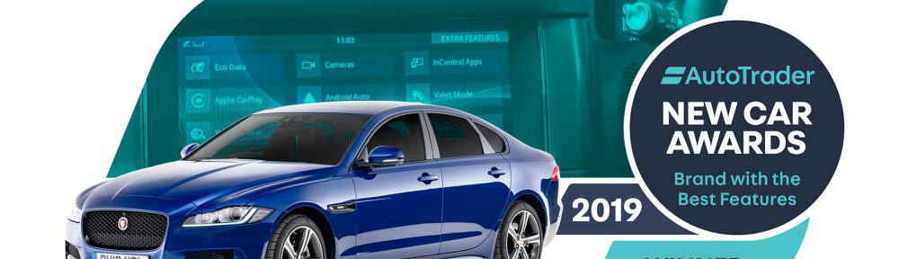 Jaguar named best for in-car tech
