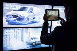 Mercedes-Benz Vans Immersive experience