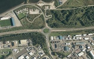Inverness Longman junction