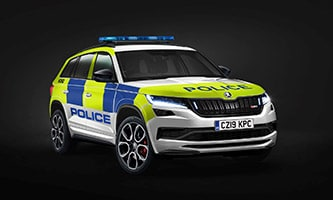Skoda's expert conversion supports UK police forces
