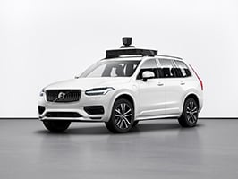 Volvo and Uber reveal first self-driving vehicle