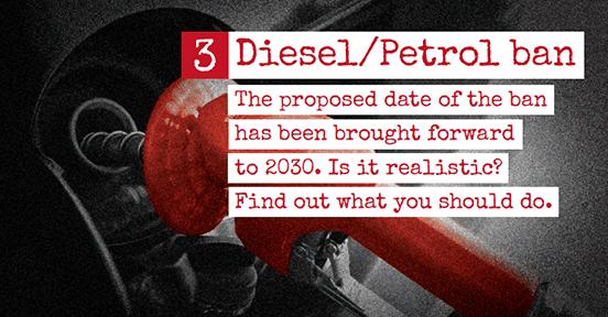 Diesel/Petrol Ban