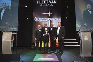 Sprinter takes top honours at the Motor Transport Awards