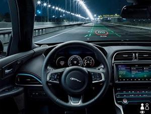 head up display Jaguar Land Rover