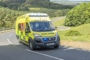 Ambulance fleet upgrade