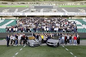 Volkswagen welcomes 1,400 new apprentices