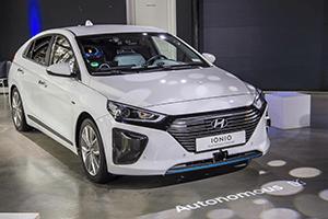 Autonomous driving developed by Hyundai