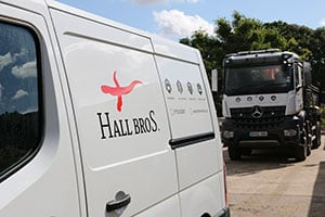 Hall Bros Groundwork Fuel Card Services