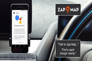 In car maps could help drivers locate green car charging points