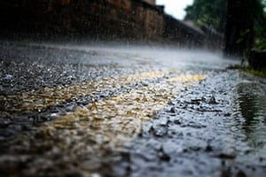 Road safety advice for driving in bad weather