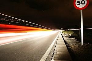 Speeding bad for car