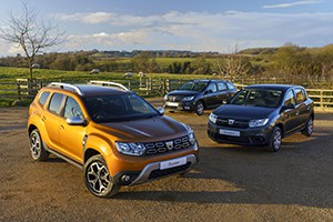 Dacia announces groundbreaking dual-fuel system for Duster, Sandero and Logan ranges