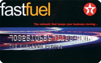 Texaco Fuel Card
