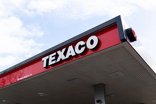 texaco fuel station