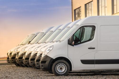 Fleet management vans