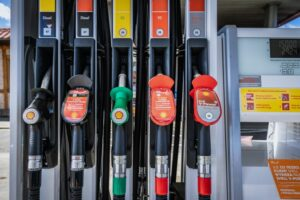Selection of petrol and diesel fuel pumps