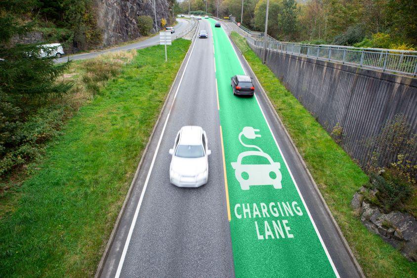 electric charging lane