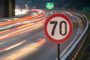 Long exposure cars and 70 speed limit