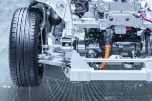 hybrid vehicle chassis